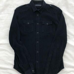 Burberry Prorsum Dark Navy Military Shirt
